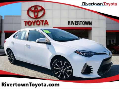 Certified Pre-Owned 2018 Toyota Corolla SE Front Wheel Drive 4dr Car - In-Stock