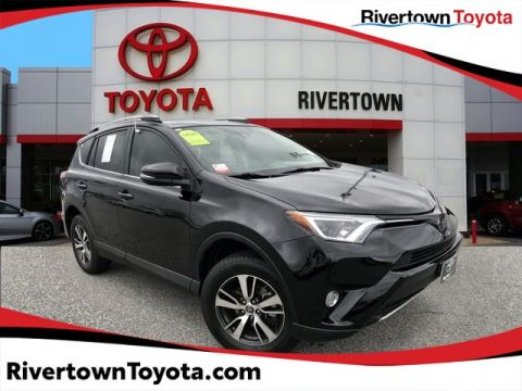 Certified Pre-Owned 2017 Toyota RAV4 XLE Front Wheel Drive SUV - In-Stock
