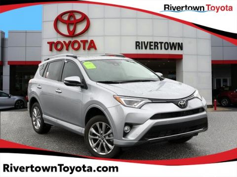 Certified Pre-Owned 2017 Toyota RAV4 Platinum Front Wheel Drive SUV - In-Stock