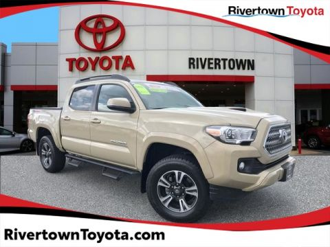 Certified Pre-Owned 2017 Toyota Tacoma TRD Sport Four Wheel Drive Short Bed - In-Stock