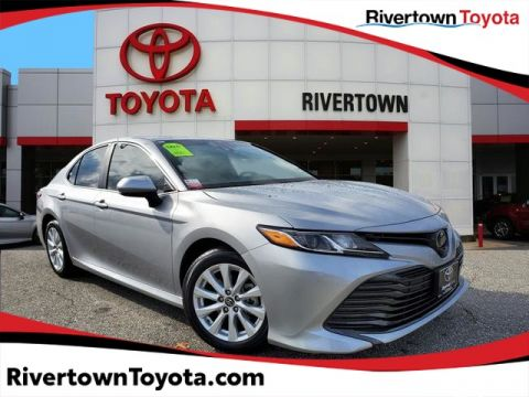 Certified Pre-Owned 2018 Toyota Camry XLE Front Wheel Drive Sedan -