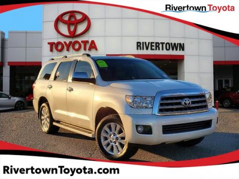 Certified Pre-Owned 2016 Toyota Sequoia Platinum Rear Wheel Drive SUV - In-Stock