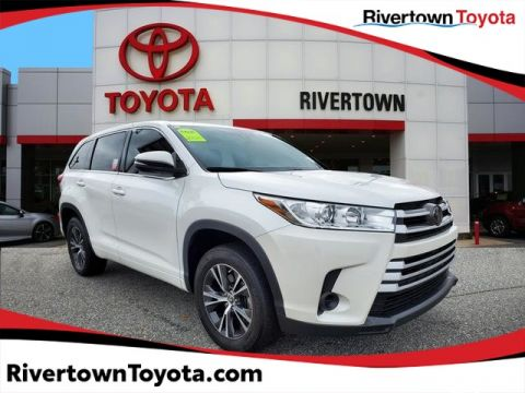 Certified Pre-Owned 2018 Toyota Highlander LE Front Wheel Drive SUV - In-Stock