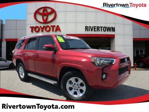 Certified Pre-Owned 2016 Toyota 4Runner SR5 Premium Rear Wheel Drive SUV - In-Stock