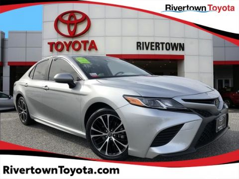 Certified Pre-Owned 2018 Toyota Camry SE Front Wheel Drive Sedan - In-Stock